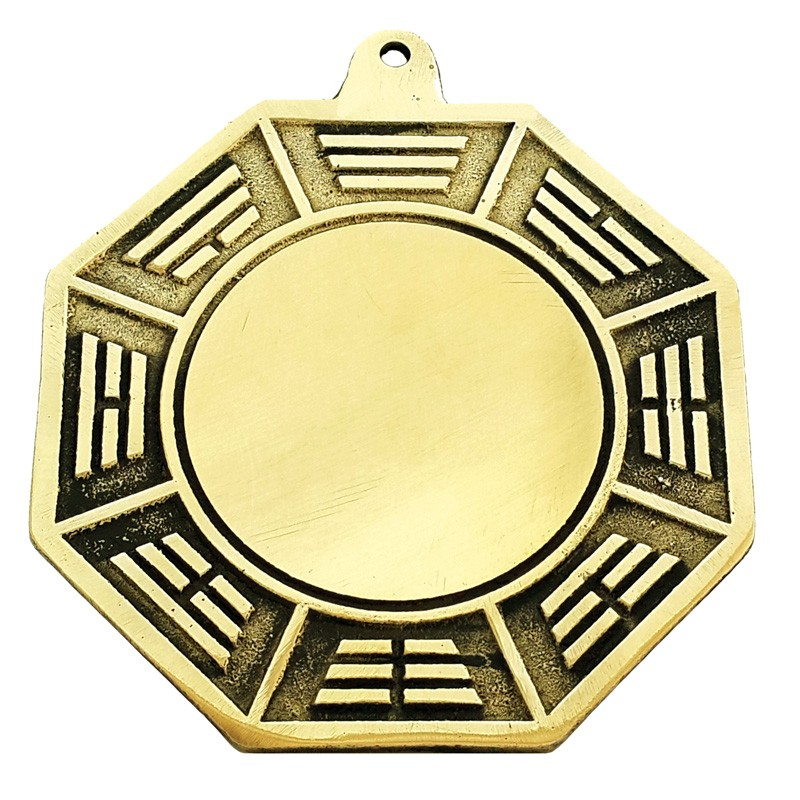 Bronze Concave Bagua Mirror