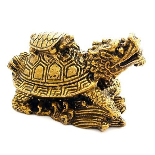 Bronze Mini Dragon Tortoise