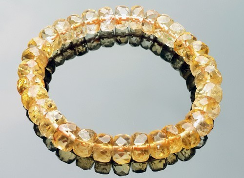 Citrine Bracelet for Super Wealth - 10mm