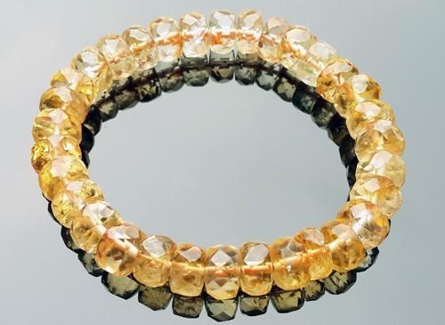 Citrine Bracelet for Super Wealth - 10mm
