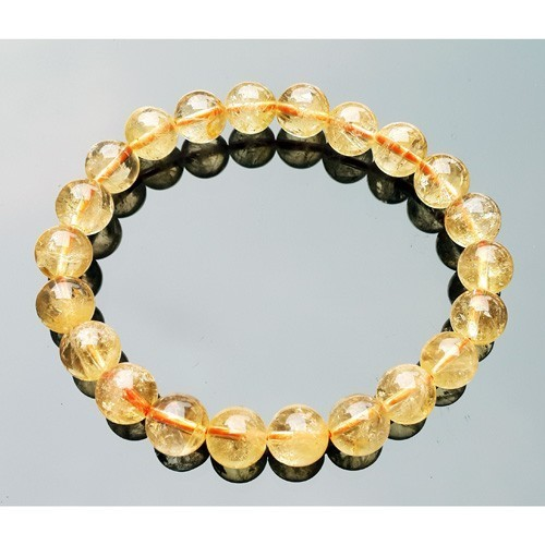 Natural Citrine Bracelet for Super Wealth - 8mm