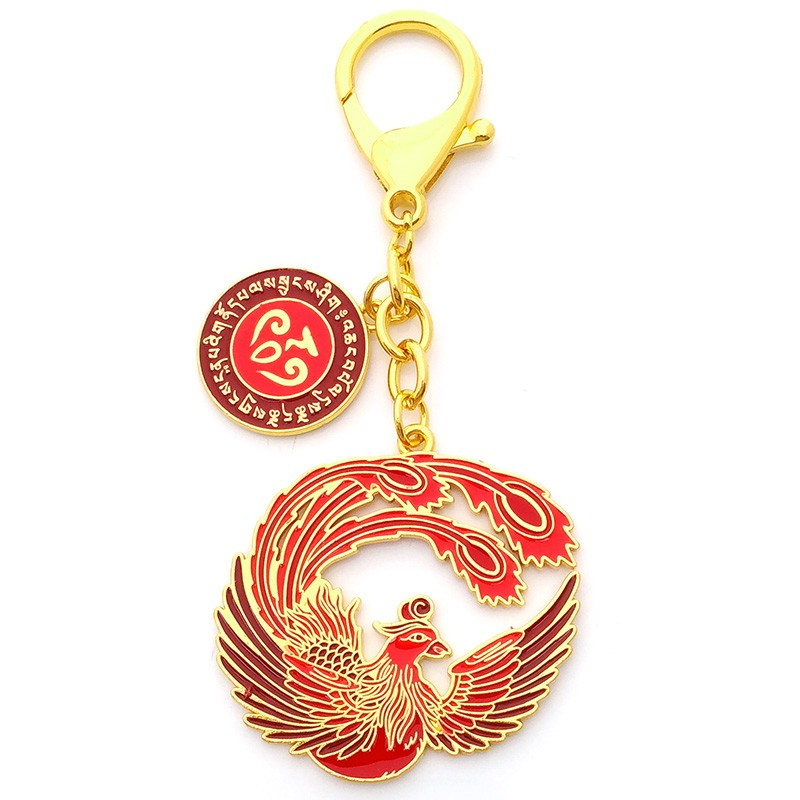 The Crimson Phoenix Lunar Mansion Talisman