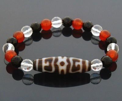 Dharma Hat Dzi Bracelet