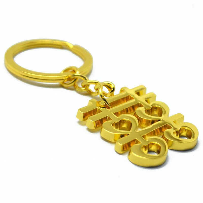 Double Happiness Keychain for Loving Marriage