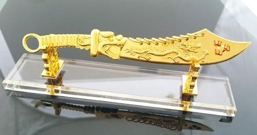 9 Rings Dragon Sword