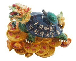 Dragon Tortoise Carrying A Child - Medium
