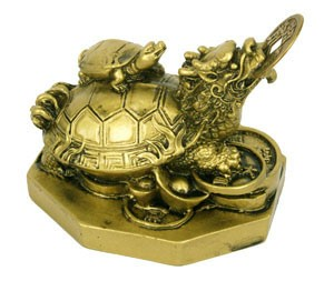 Feng Shui Dragon Tortoise for Success and Longevity