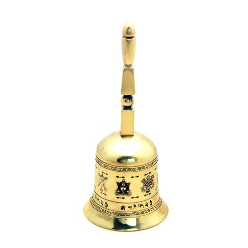 5 Element Pagoda Ringing Bell with 8 Auspicious Objects