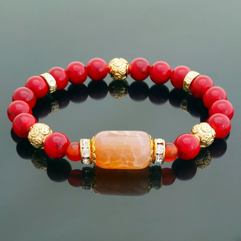 Feng Shui Lucky Charm Bracelet for Wealth and Recognition