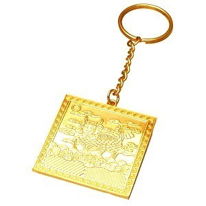The Golden Chi Lin Amulet