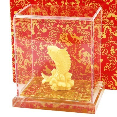 Auspicious Carp for Wealth and Abundance