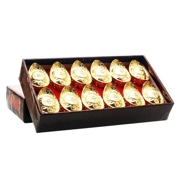 Golden Ingots(small) - 12pcs per set