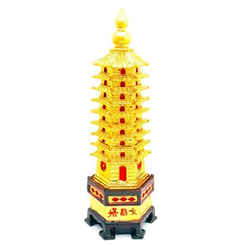 Golden Wen Chang Pagoda - Large