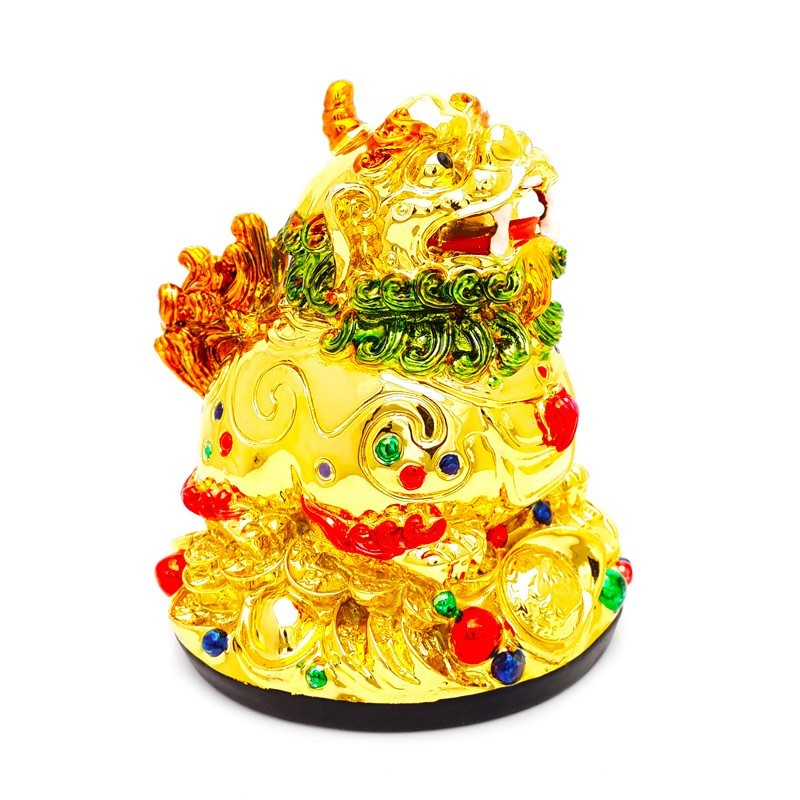 Golden Pi Yao for Good Fortune and Protection