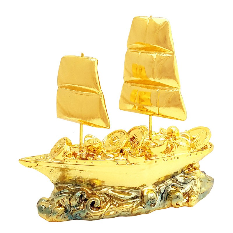 The Golden Ship of Wealth