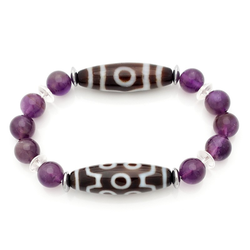 The Good Luck Combo Dzi Bracelet To Obtain Good LUCK