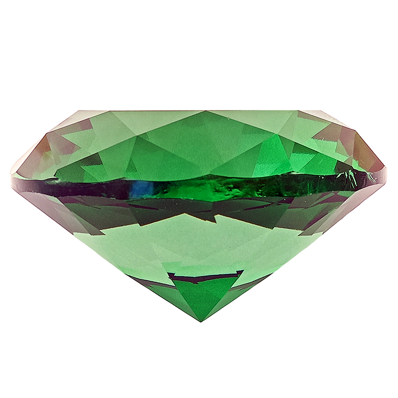Green Wish Fulfilling Crystal for Growth and Expansion - 60mm