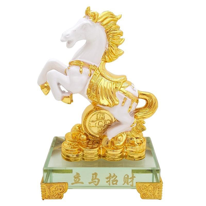 Auspicious Horse for Success and Money Luck