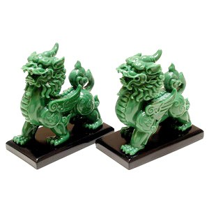 A Pair of Jade Flying Pi Yao for Protection and Good Fortune