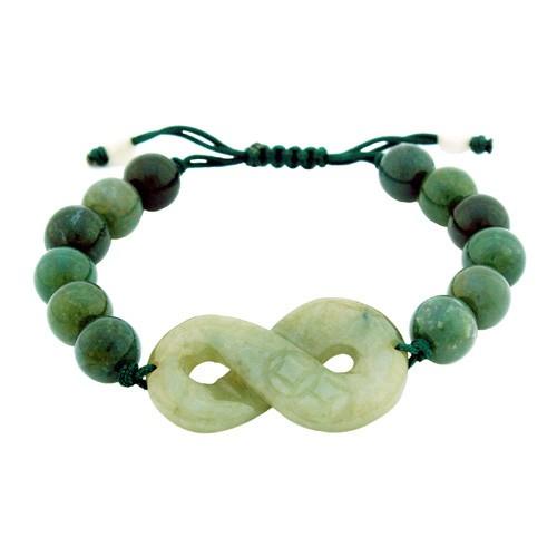 The 8-Shape Charm Bracelet for Prosperity Luck