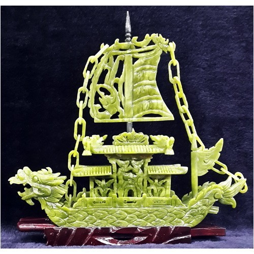 Jade Dragon Boat For Business - Small