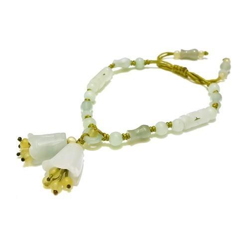 The Magnolia Flowers Charm Bracelet
