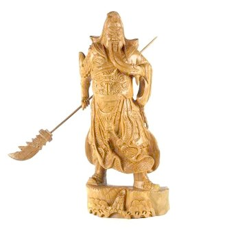 Kwan Kung Carving For Wealth and Protection