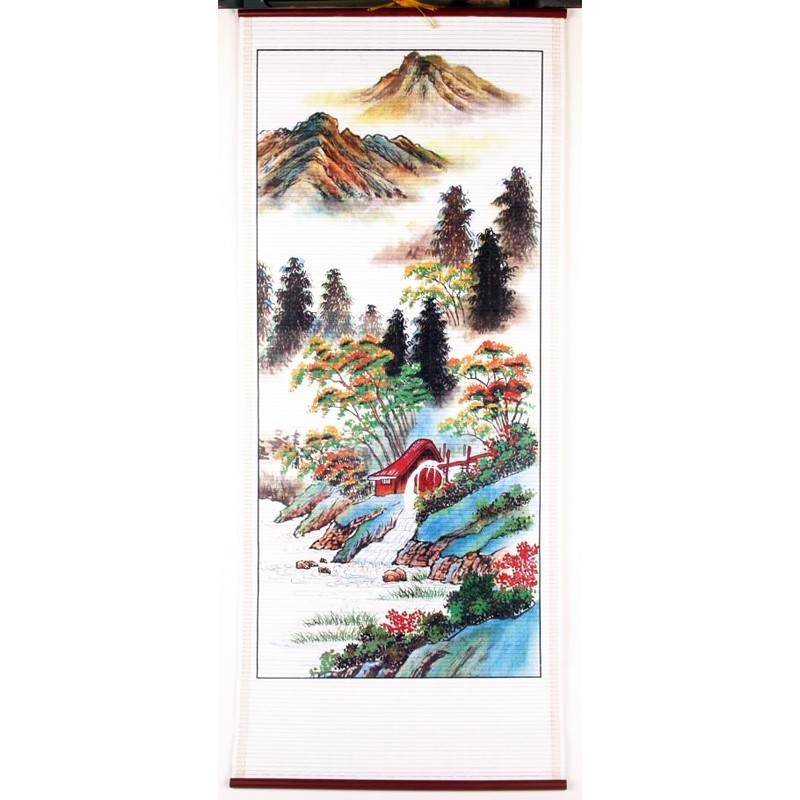 The Fortune Landscape Scroll - A