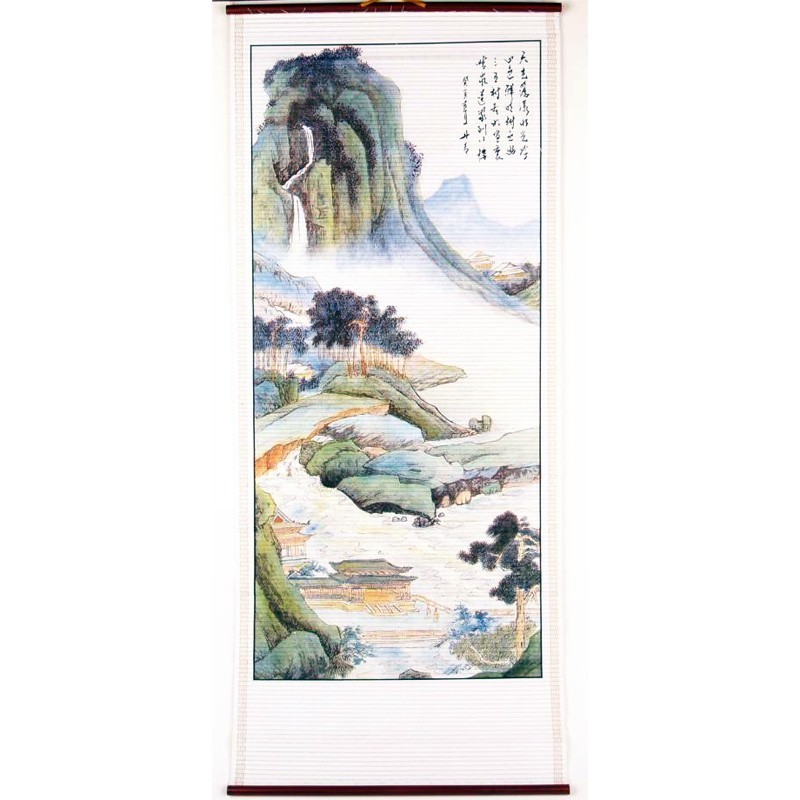 The Fortune Landscape Scroll - C