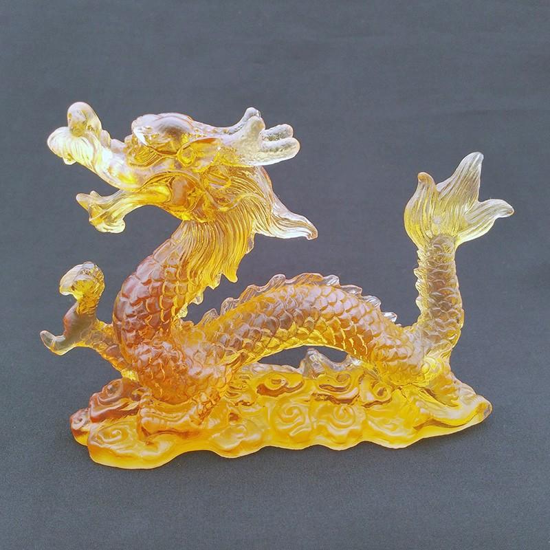 Feng Shui Liuli Dragon for Good LUCK