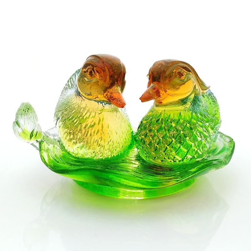 Mandarin Ducks For Love and Romance