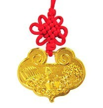 Lock Coin Amulet