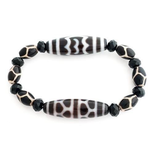 The Longevity Dzi Combo Bracelet