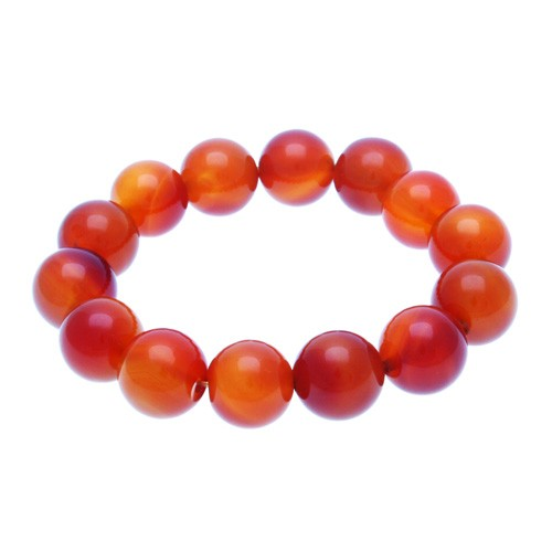 Red Agate Bracelet - 16mm