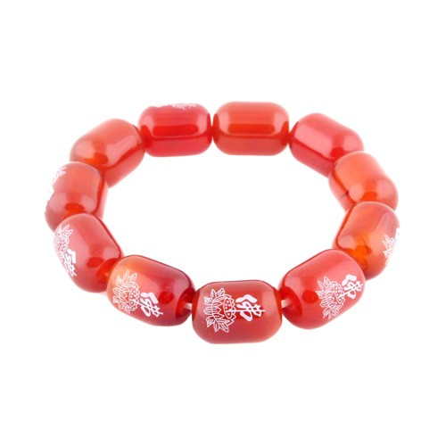 Red Agate Bracelet - 14mm ( Special Offer )