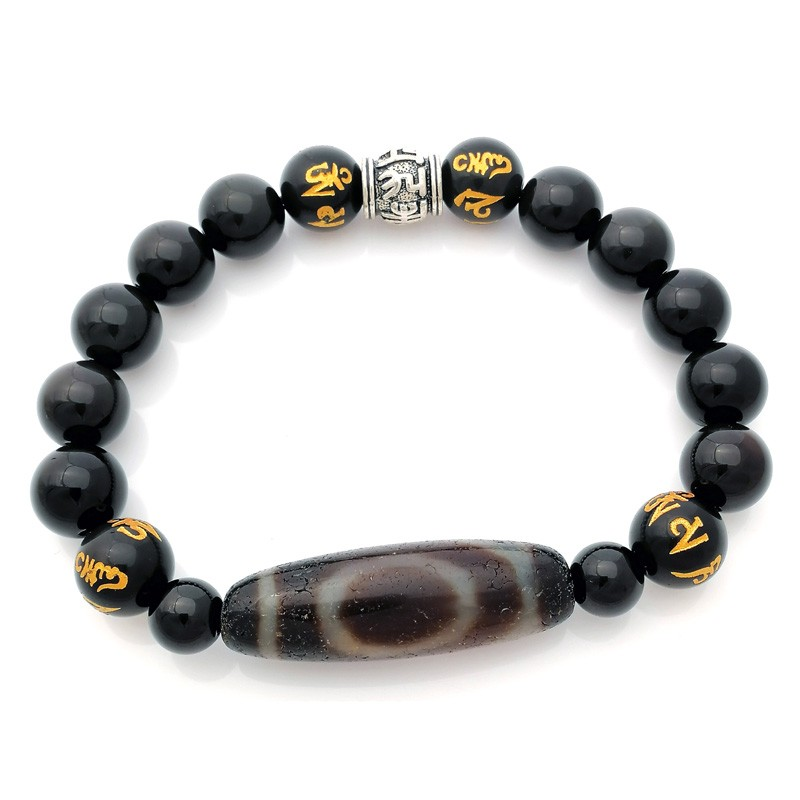 Authentic One Eye OLD Agate dZi Bead for Wisdom and Happiness