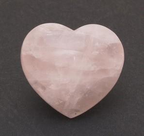 Heart-Shape Rose Quartz Crystal - Small