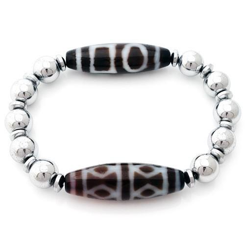 The Protection Dzi Combo Bracelet