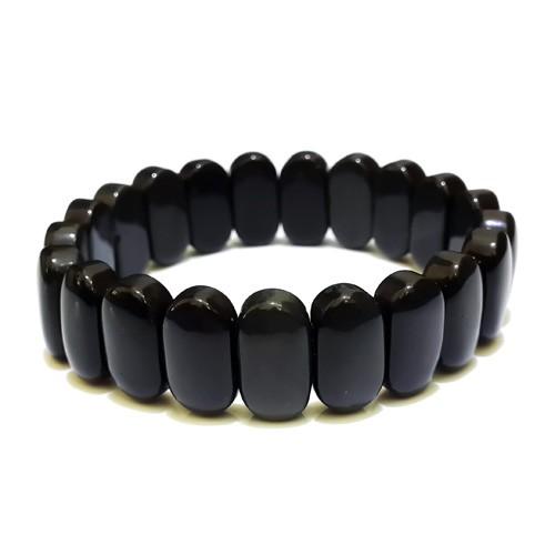 100% Natural Obsidian Bracelet