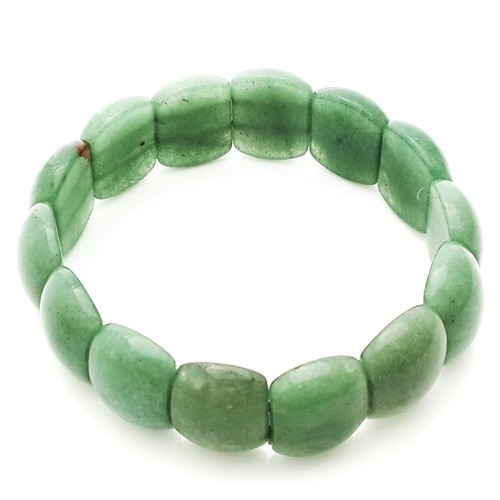 Natural Aventurine Quartz Crystal Bracelet