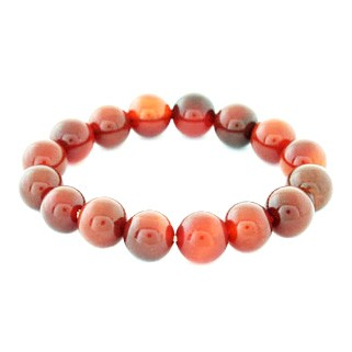 Red Agate Bracelet - 12mm