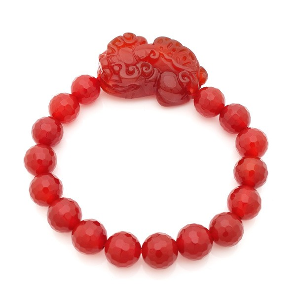 Red Agate Pi Yao Bracelet
