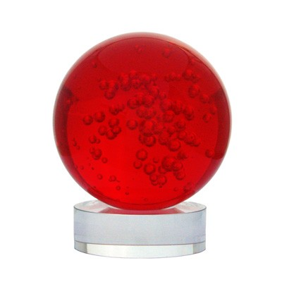 Red Crystal Ball for Fame and Recognition