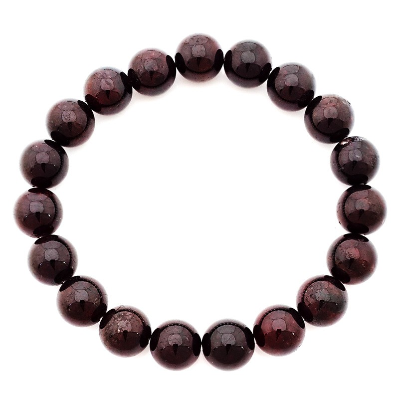 Natural Red Garnet For Love - 10mm