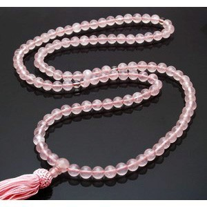 Rose Quartz Mala Beads - 8mm