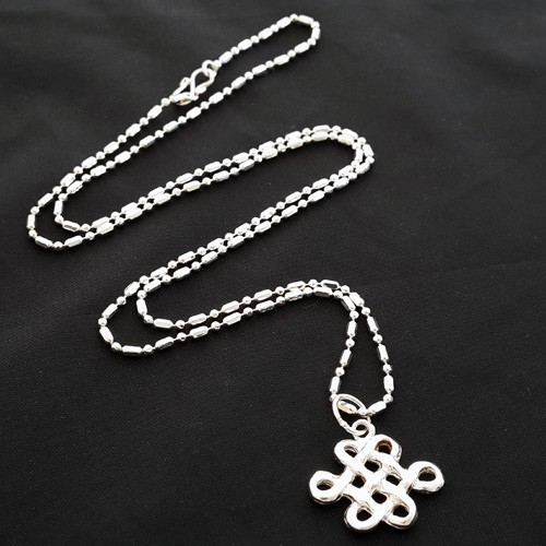925 Silver Mystic Knot Pendant