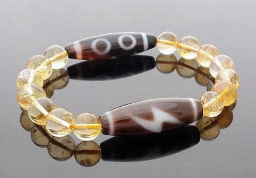 The SUPER Wealth Dzi Combo Bracelet