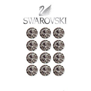 Swarovski Crystal Beads ( Black-Diamond ) - 2 Dozen per pack