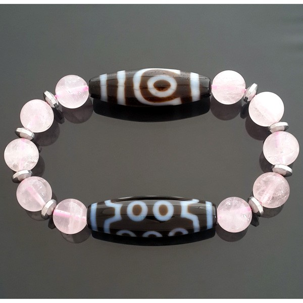 The Love Dzi Combo Bracelet