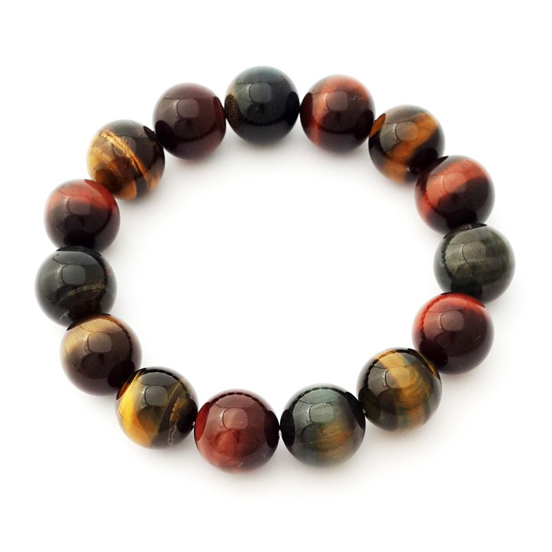 Natural Tiger Eye Bracelet for Career Luck